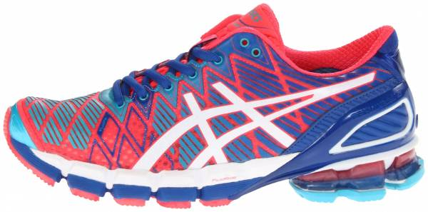 asics gel kinsei 5 hot punch