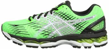 Asics Gel Nimbus 17 - Flash Green/White/Black