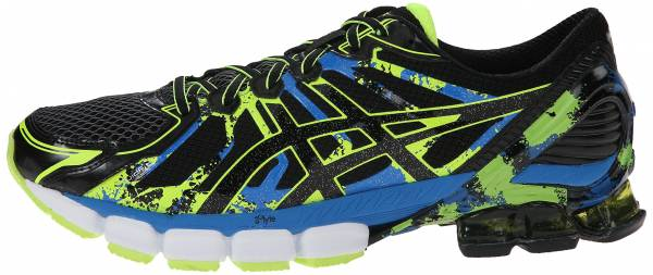 buy online 83ffc 19b1e Asics Gel Sendai 2 Black Onyx Flash Yellow