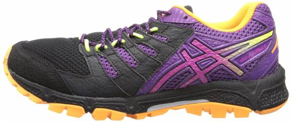 Asics Gel FujiAttack 4 Onyx/Hot Pink/Purple