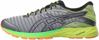 Asics DynaFlyte MIDGREY/ BLACK/ SAFETY YELLOW Men