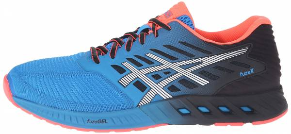 Asics FuzeX men methyl blue/white/black