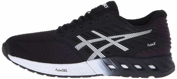 Asics FuzeX woman black/white/onyx