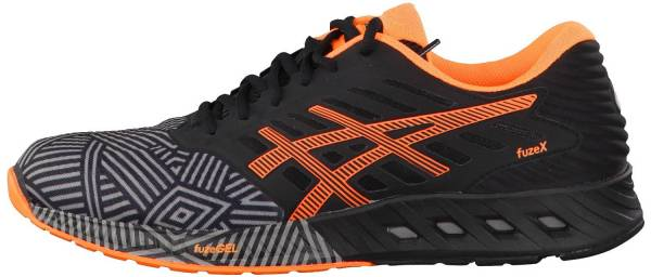 Asics FuzeX men black/orange - 7.5 uk