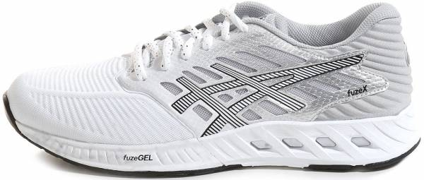 Asics FuzeX woman bianco (white/silver/black)