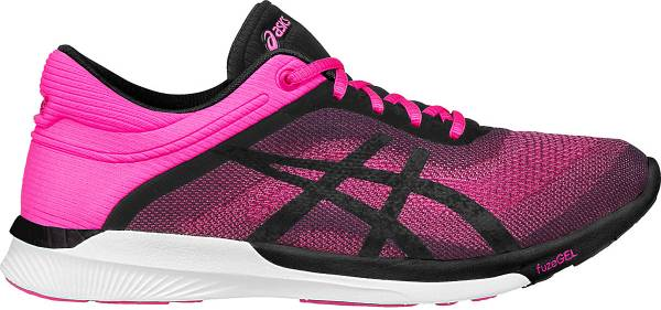 Asics FuzeX woman hot pink/black/white