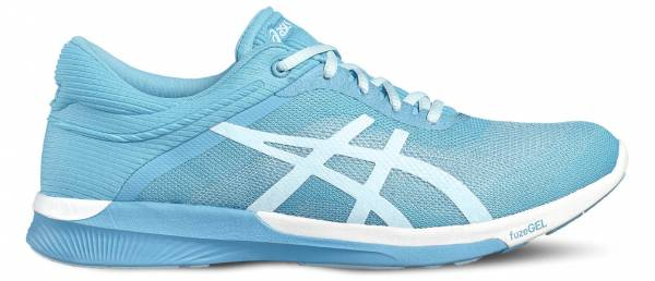 Asics FuzeX woman blue / white