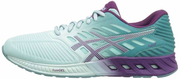 Asics FuzeX woman blue/purple