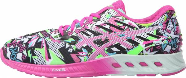 Asics FuzeX woman white/pink glow/soothing sea
