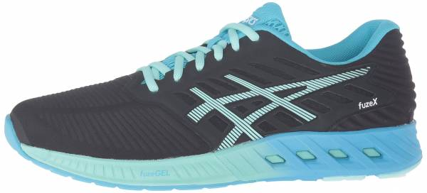 Asics FuzeX woman black/mint/aquarium