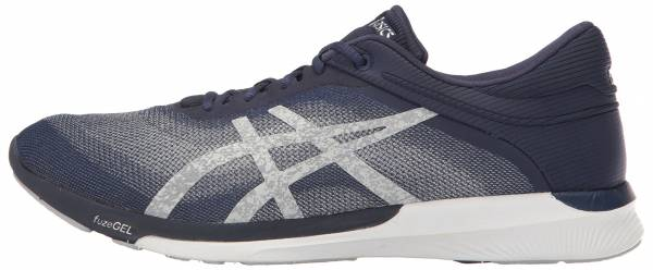 Asics FuzeX men indigo blue/silver/white