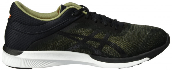 Asics FuzeX men noir (aloe/black/white)
