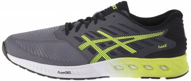 Asics FuzeX Carbon/Flash Yellow/Black Men