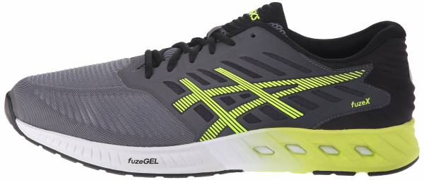 Asics FuzeX - Carbon/Flash Yellow/Black (T639N9707)