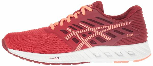 Asics FuzeX woman oat red/flash coral/true red