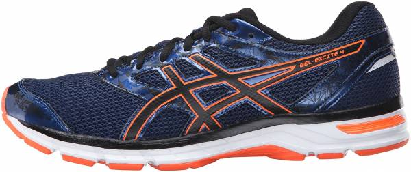 f7c4ca9815b5 Asics Gel Excite 4 Poseidon Black Hot Orange