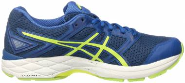 Asics Gel Phoenix 8 - Blu Thunder Blue Safety Yellow Indigo Blue (T6F2N4907)