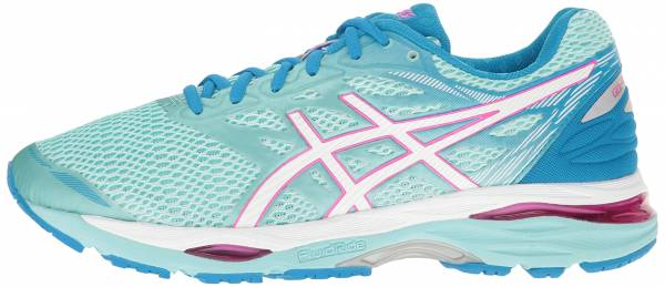 Asics Gel Cumulus 18 woman multicolore (aqua splash/white/pink glow)