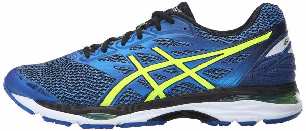 Asics Gel Cumulus 18 men imperial/safety yellow/black