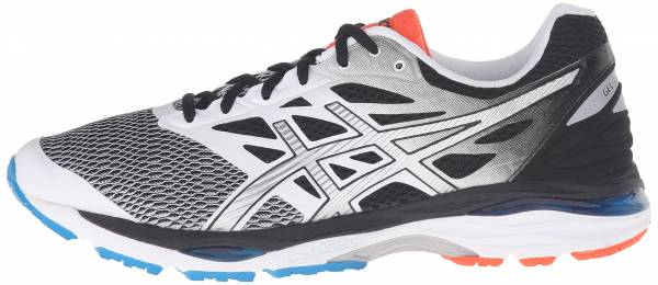 Asics Gel Cumulus 18 men white/silver/black