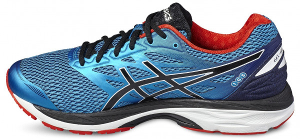 Asics Gel Cumulus 18 men blue-black