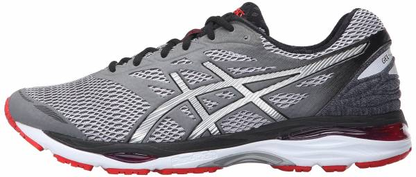 Asics Gel Cumulus 18 men carbon/silver/vermillion