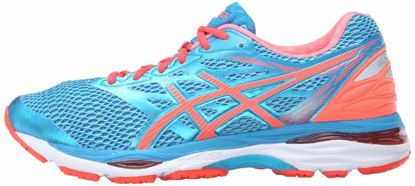 Asics Gel Cumulus 18 woman aquarium/flash coral/blue jewel