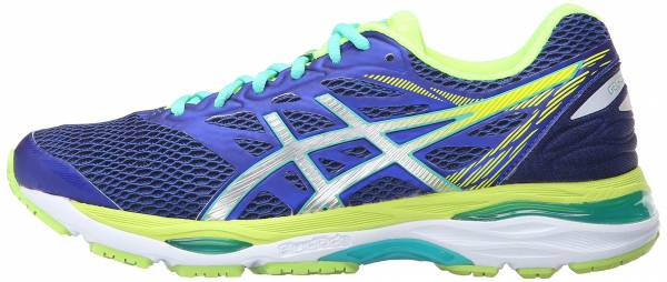Asics Gel Cumulus 18 woman asics blue/silver/safety yellow
