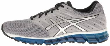 Mens Asics Gel Quantum 180 4 Neutral Running Shoes Black