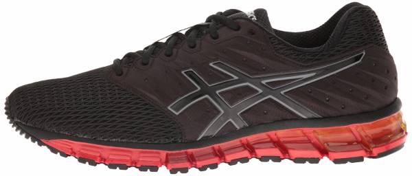 Asics Gel Quantum 180 2 men black/onyx/vermilion