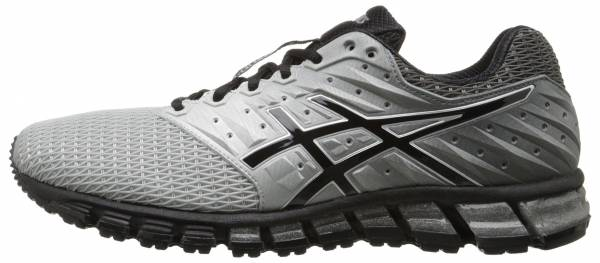 Asics Gel Quantum 180 2 men mid grey/black/silver