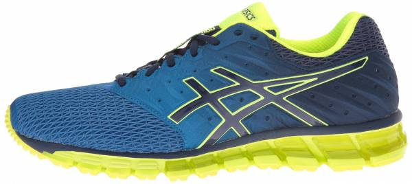 Asics Gel Quantum 180 2 men imperial/safety yellow/indigo blue