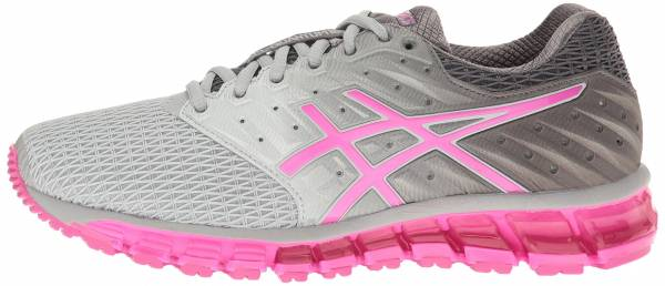 Asics Gel Quantum 180 2 woman mid grey/pink glow/carbon