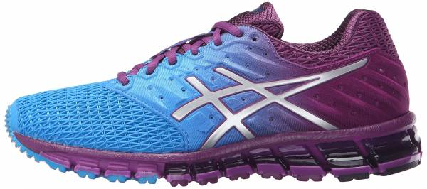 Asics Gel Quantum 180 2 woman blue jewel/silver/phlox