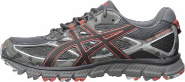 Asics Gel Scram 3 - Dark Grey Black Red Clay