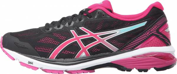 Asics GT 1000 5 woman black/sport pink/blue