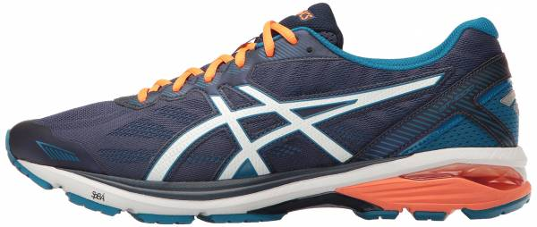 Asics GT 1000 5 men ndigo blue/snow/hot orange