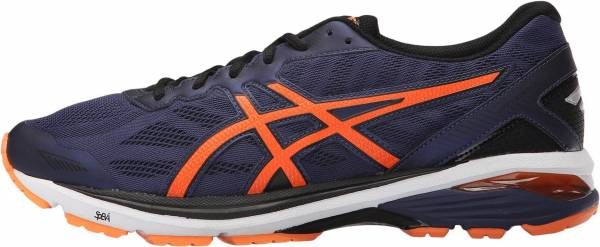 Asics GT 1000 5 men indigo blue/hot orange/black
