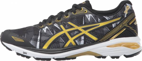 Asics GT 1000 5 men black/rich gold/gold ribbon