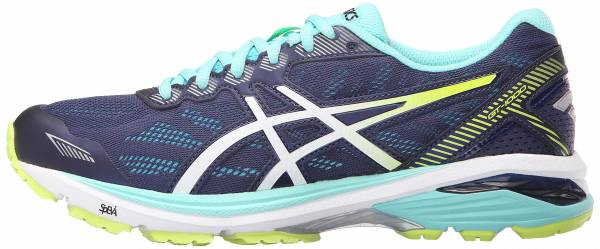 Asics GT 1000 5 woman indigo blue/white/safety yellow