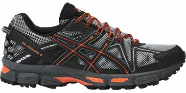 Asics Gel Kahana 8 - Black Hot Orange Carbon