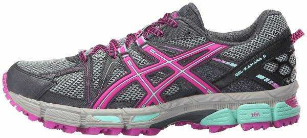 Asics Gel Kahana 8 woman dark steel/pink glow/mint