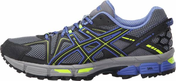 Asics Gel Kahana 8 woman aluminum/black/flash yellow