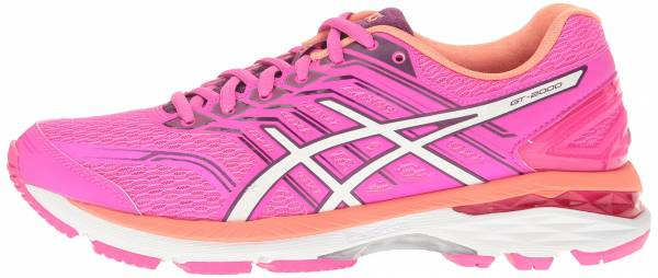 asics women's sneakers pink