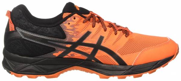 Asics Gel Sonoma 3 men shocking orange / black / carbon
