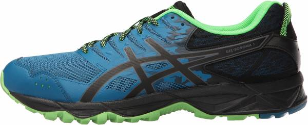 Asics Gel Sonoma 3 Thunder Blue/Black/Green Gecko