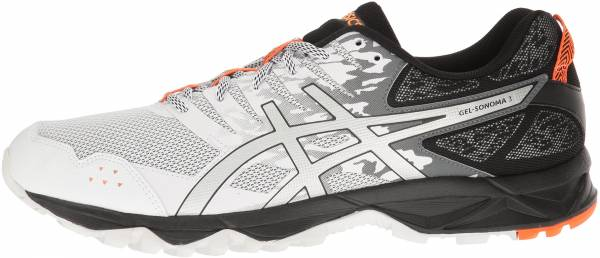 Asics Gel Sonoma 3 men white/silver/hot orange