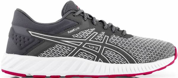 Asics FuzeX Lyte 2 - Mid Grey/Carbon/Cosmo Pink (T769N9697)