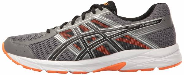 Asics Gel Contend 4 - Carbon/Black/Hot Orange (T715N9790)