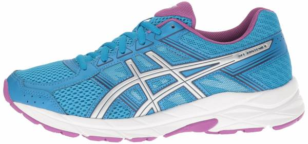 Asics Gel Contend 4 woman diva blue/silver/orchid